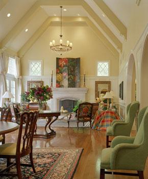 June Roesslein Interiors Model Home